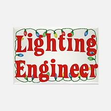 Lighting engineer Rectangle Magnet