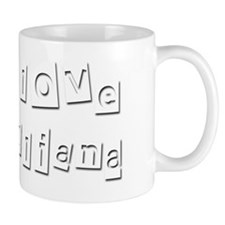 I Love Juliana Mug