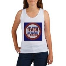those who can teach Women's Tank Top