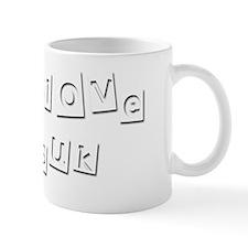 I Love Suk Mug