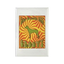 Groovy PIOs Rectangle Magnet (10 pack)
