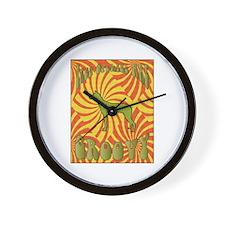 Groovy PIOs Wall Clock