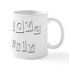 I Love Karly Mug