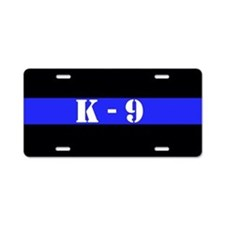Police K-9 Aluminum License Plate