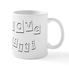 I Love Kurti Small Mug