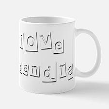 I Love Kassandra Small Small Mug