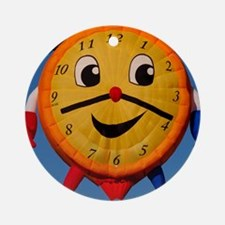 (4) Balloons Shape Clock  6268 Round Ornament