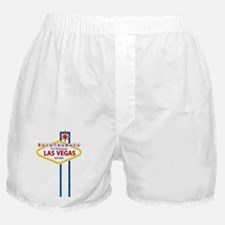 Save the Date For Las Vegas Card Boxer Shorts