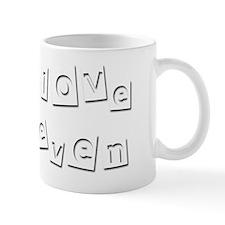 I Love Keven Mug