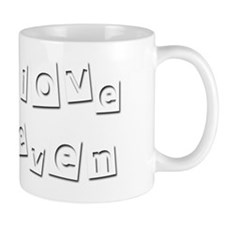 I Love Keven Small Mug
