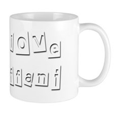 I Love Tiffani Mug