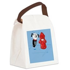 That Toy Dog Canvas Lunch Bag