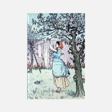 Mothers day Vintage Laundry Rectangle Magnet