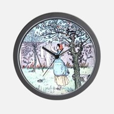 Mothers day Vintage Laundry Wall Clock