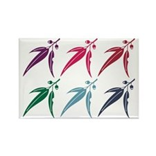 6 Panel National Trust Logo Rectangle Magnet