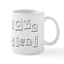 I Love Leilani Mug