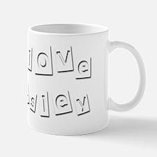 I Love Lesley Mug