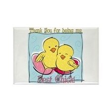 Best Friend Easter Rectangle Magnet