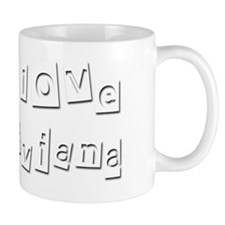 I Love Viviana Small Mug