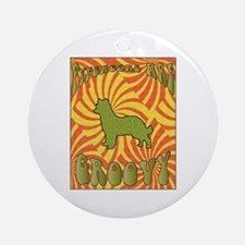 Groovy Pyreneans Ornament (Round)