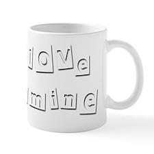 I Love Yasmine Mug