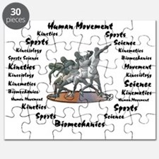 Sports Science Logo Puzzle