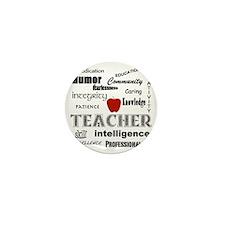 Teacher Pride Mini Button