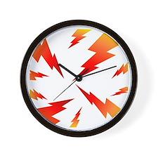 FSW lightning bolt BACK Wall Clock