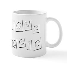 I Love Marcelo Small Mug