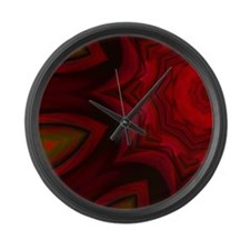 PlateDesignExc69696 Large Wall Clock