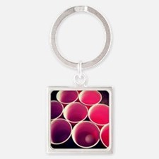 Heating Up! Square Keychain