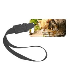 Head bumps for the holidays Luggage Tag