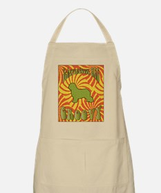 Groovy Schapendoes BBQ Apron