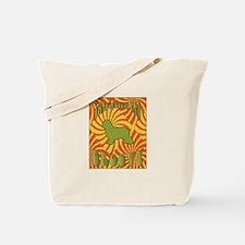 Groovy Schapendoes Tote Bag
