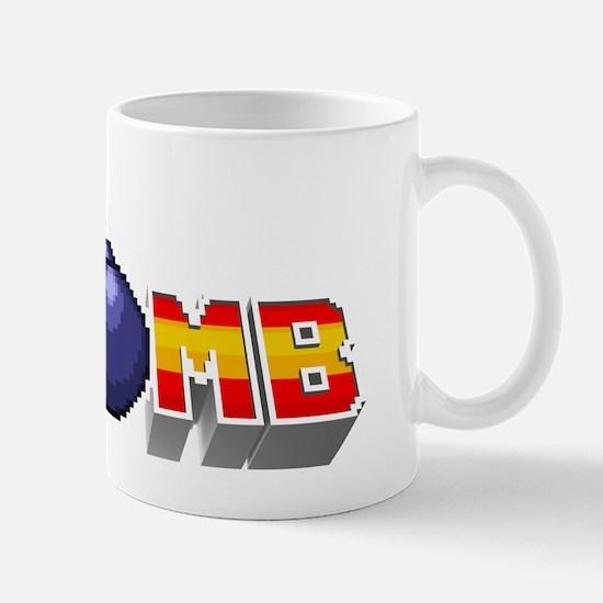 F-Bomb 3-D pixel Mug