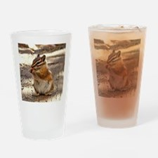 Chipmunk Drinking Glass