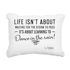 tshirt black transparent Rectangular Canvas Pillow