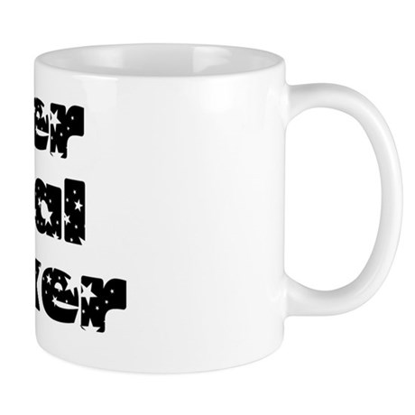 key holder black Mug