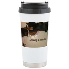 sharing is overrated Travel Mug