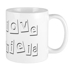 I Love Mariela Small Mug