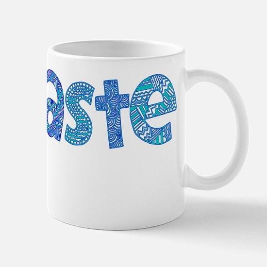 Blue Tribal Namaste Mug