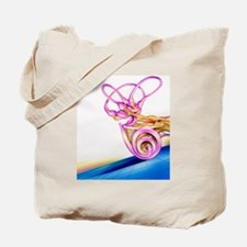 Inner ear Tote Bag