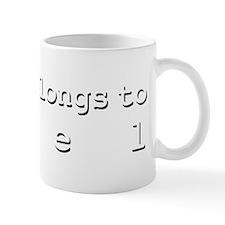 My Heart Belongs To Abel Mug