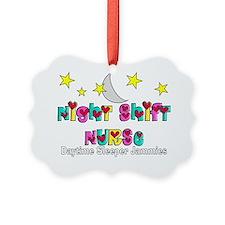Night Shift Nurse Picture Ornament