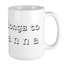 My Heart Belongs To Adrianna Mug