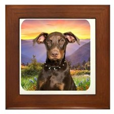 meadow Framed Tile