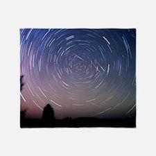 Leonid meteors Throw Blanket