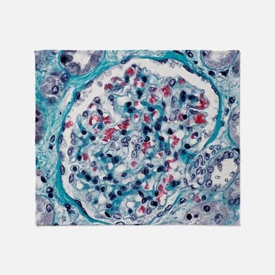 Kidney glomerulus Throw Blanket