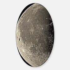 Last quarter Moon Sticker (Oval)