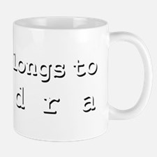 My Heart Belongs To Kendra Mug
